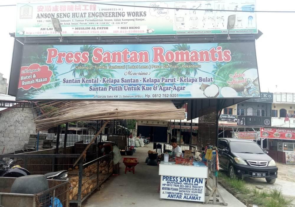 Press Santan Romantis 03 - Press Santan Romantis - Pasar Cik Puan  Pekanbaru