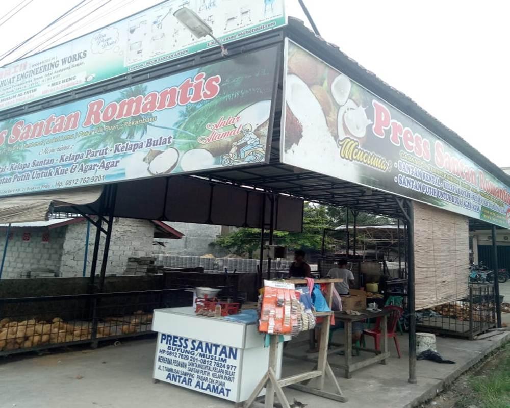 Press Santan Romantis 04 - Press Santan Romantis - Pasar Cik Puan  Pekanbaru