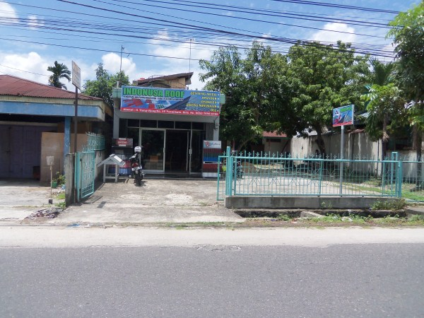 "100 5093 - Toko Baja Ringan ""Indonusa Roof"" Pekanbaru"