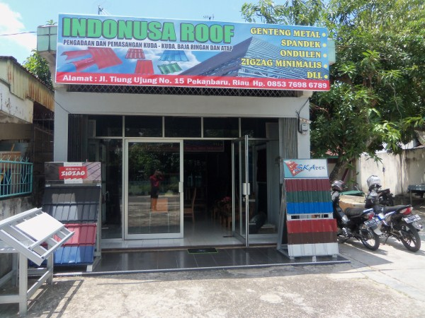 "100 5097 - Toko Baja Ringan ""Indonusa Roof"" Pekanbaru"