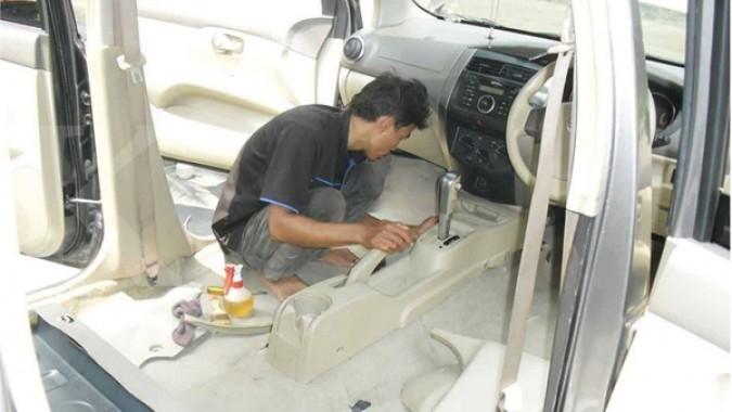 Tawaran kemitraan bisnis Salon Mobil Carwax milik Johan Salim di BSD City. Foto: Dok Carwax