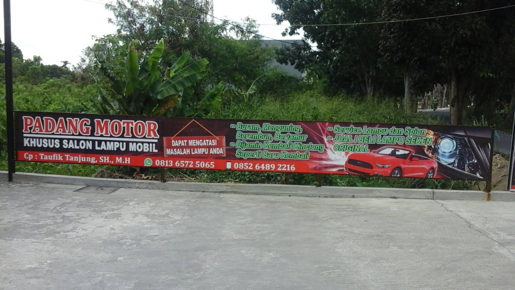 4755 - Padang motor - Salon Lampu Padang Motor