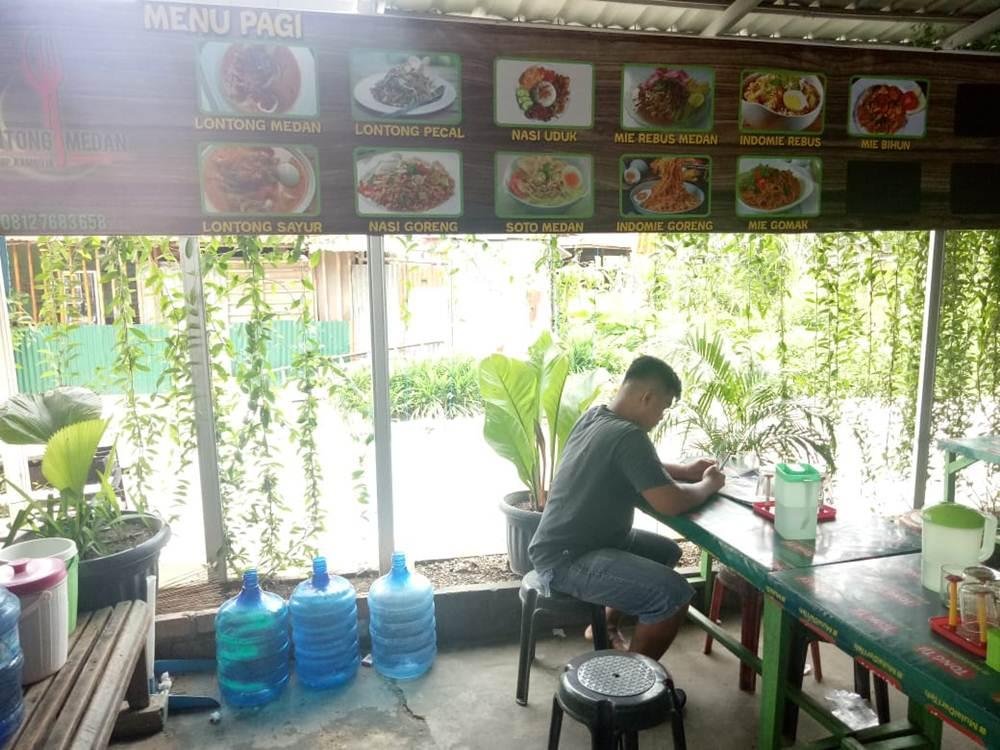 Lontong Medan Simpang Kamboja 04 - Lontong Medan Simpang Kamboja Pekanbaru