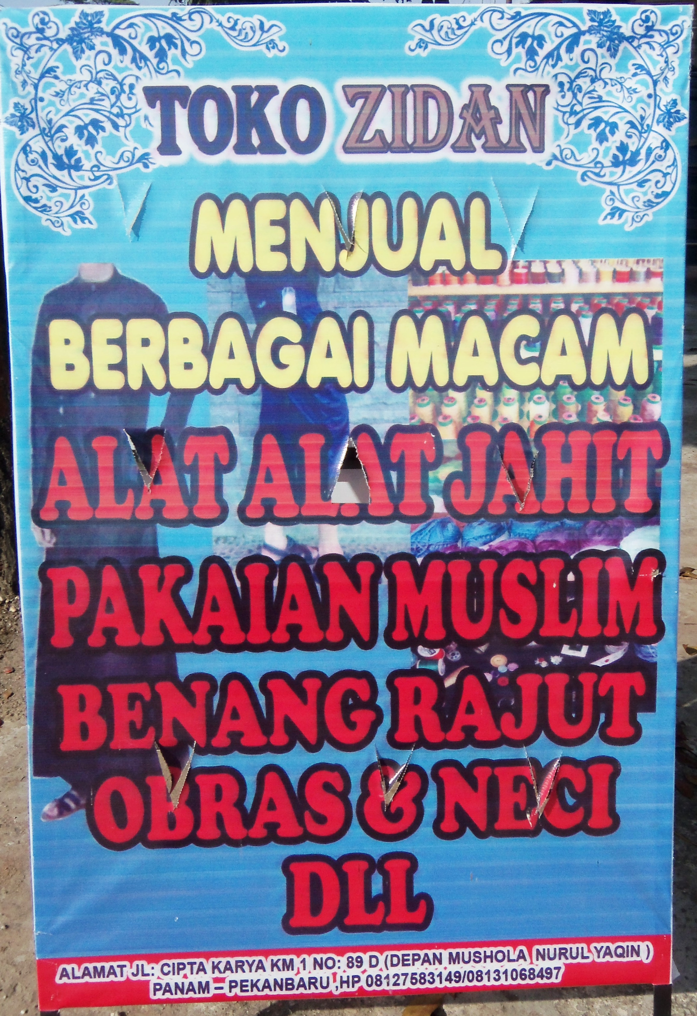 Toko Zidan Alat Jahit Panam Pekanbaru Portal Bisnis Jarum Eceran Riau Indonesia Berita Ukm Direktori