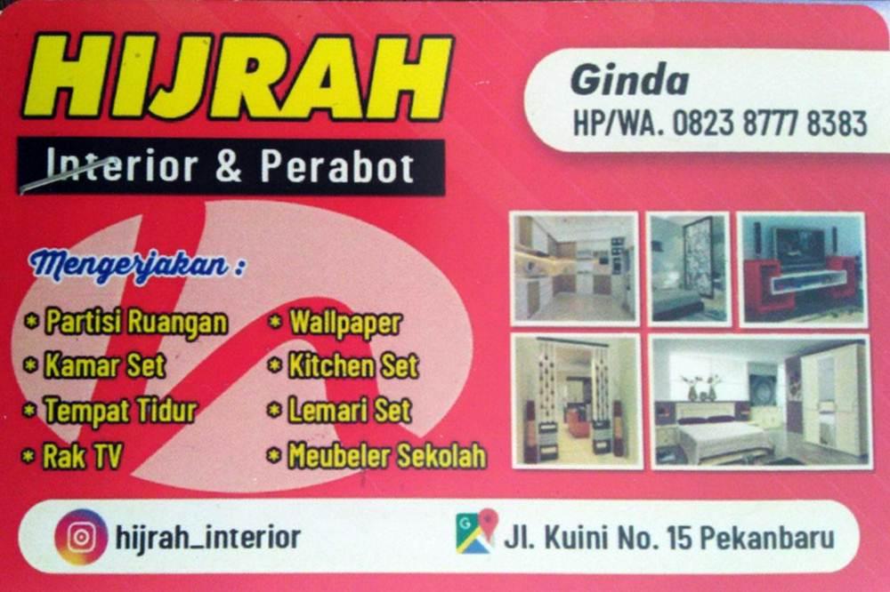 Hijrah Interior dan Perabot1 - Hijrah Interior dan Perabot | gudang perabot dan rumah produksi interior pekanbaru