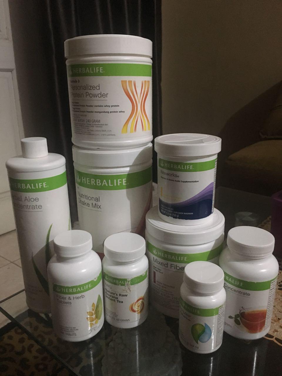 Ini produk nutrisi harian saya (silvie)