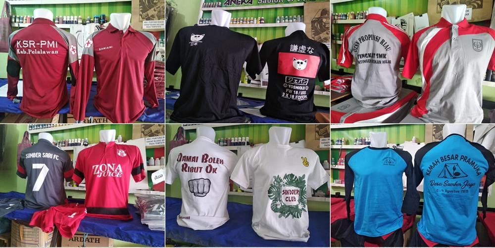 Aneka Sablon dan Printing 00 - Aneka Sablon dan Printing - Sablon Kaos Pekanbaru