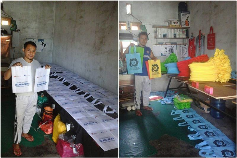 Aneka Sablon dan Printing 6 tile - Aneka Sablon dan Printing - Sablon Kaos Pekanbaru