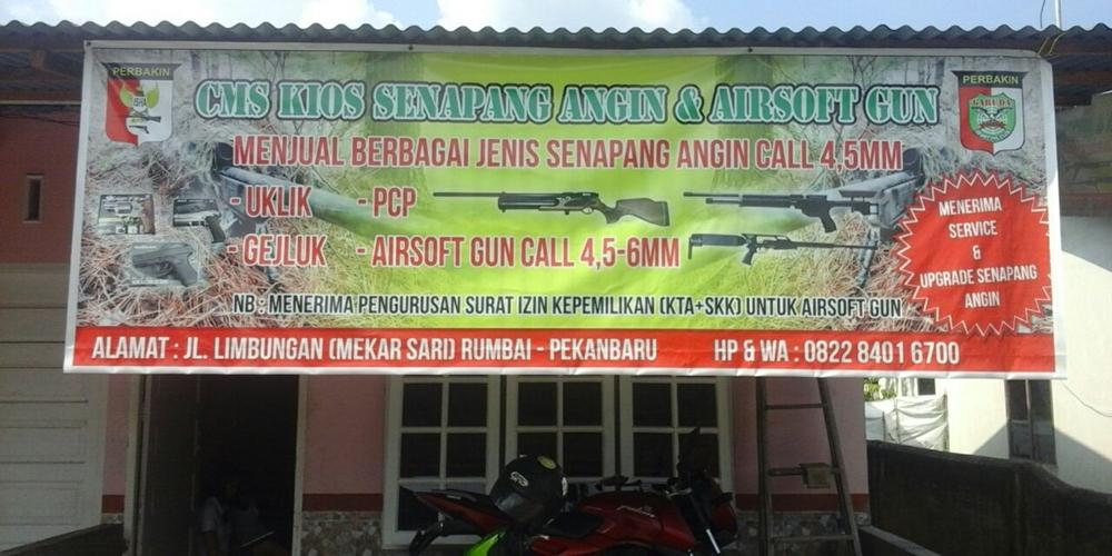 Penjualan Dan Service Senapan Angin dan Air Softgun Pekanbaru - Cms Kios Snapan Angin Dan Air Softgun