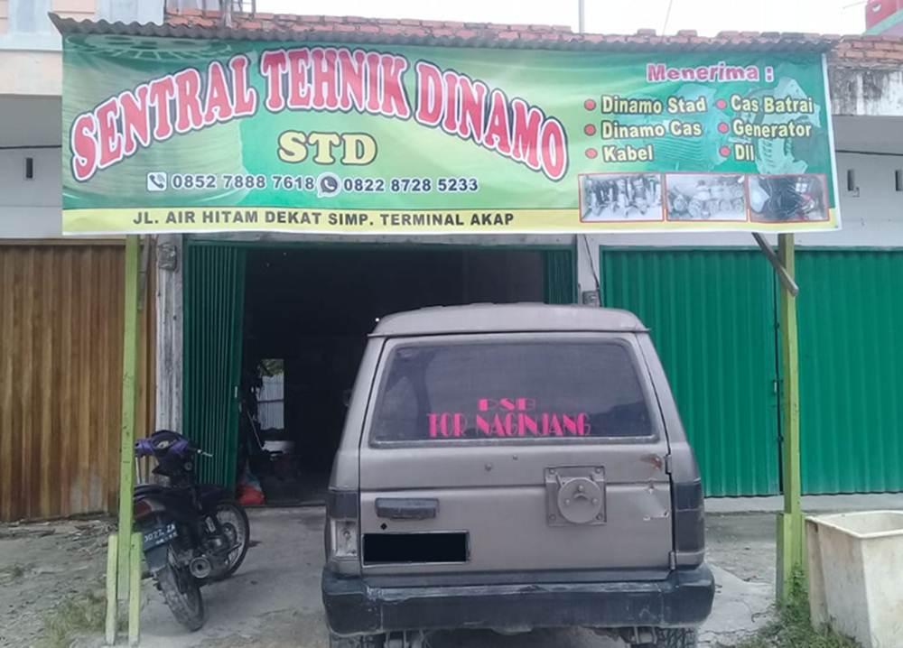 SENTRAL TEKNIK DINAMO 11 - Bengkel Spesialis Dinamo Kabel - Kabel Pekanbaru - Sentral Teknik Dinamo (STD)