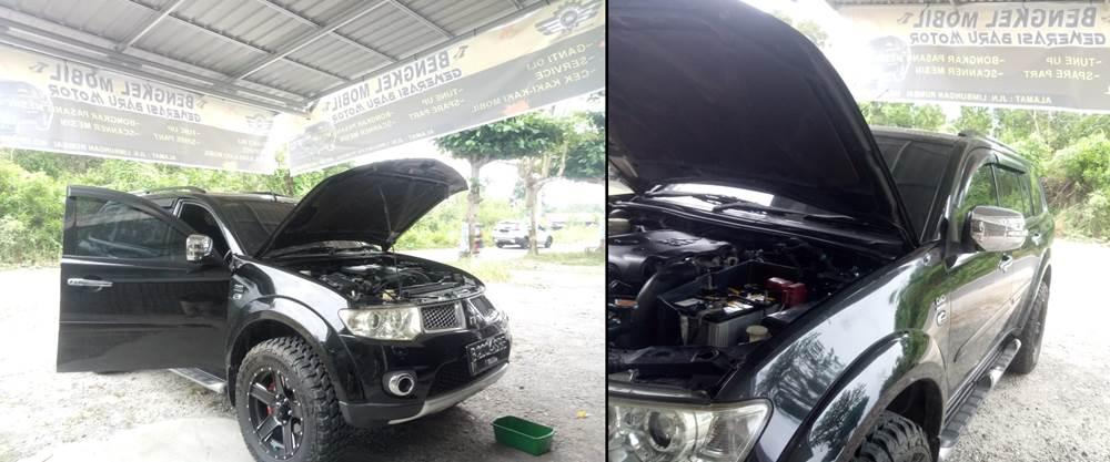 Bengkel Mobil Generasi Baru motor 2 - Bengkel Perbaikan Mobil Umum Rumbai Pekanbaru