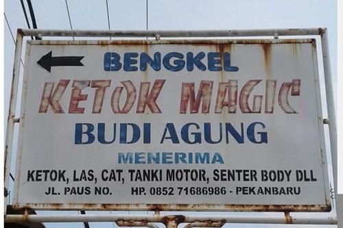 Ketok Magic Budi Agung 1