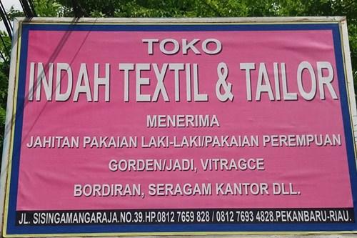 Toko Indah Textile Dan Tailor 1 - Toko Indah Textile Dan Tailor
