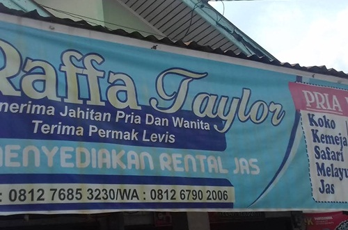 Raffa Taylor Pekanbaru