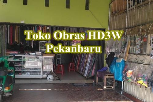 Toko Obras HD3W Pekanbaru