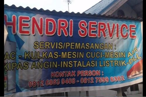 Hendri Service Elektronik Pekanbaru