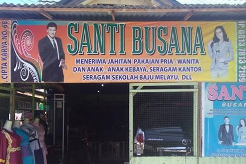 Santi Busana Pekanbaru 1 - Santi Busana Pekanbaru