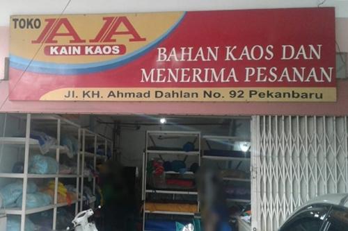 AA Kaos 1 - Toko Sablon dan Kaos Pekanbaru - AA Kaos