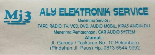 Aly Elektronik Service Pekanbaru 2 - Aly Elektronik Service Pekanbaru