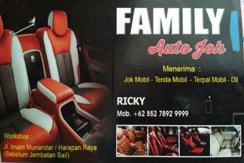FamilY Auto Jok 1 - Family Auto Jok - Salon dan Jok Mobil Pekanbaru