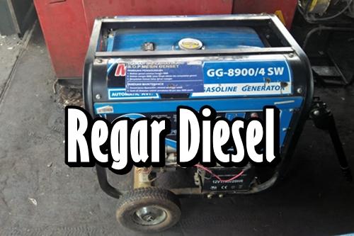 Regar Diesel 1 - Service Genset Peanggilan Pekanbaru - Regar Diesel
