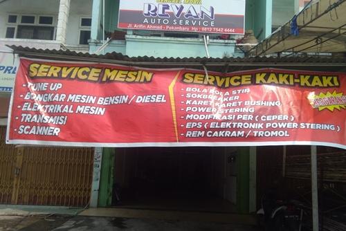 Revan Auto Service 1 - Revan Auto Service - service mesin dan kaki-kaki