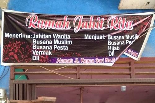 Rumah Jahit Rita Pekanbaru