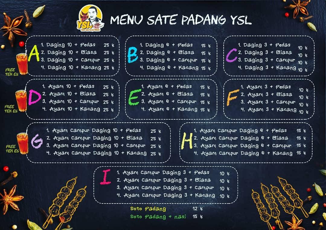 Sate Padang Ysl 3 - Sate Padang Ysl - Sate Padang Enak Pekanbaru