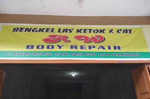Aw Body Repair 1 - Aw Body Repair - Jasa las Ketok dan cat Murah Pekanbaru