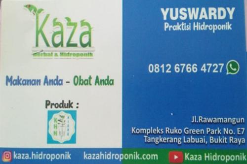 Kaza Herbal dan Hidroponik 1 - Kaza Herbal dan Hidroponik - Toko Hidroponik Pekanbaru