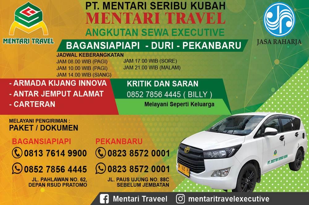 MENTARI SERIBU KUBAH TRAVEL 01 - Travel Pekanbaru Bagansiapiapi - PT Mentari Seribu Kubah