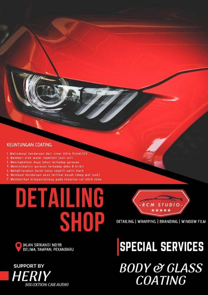 Rcm Studio 19 - Salon Baret Kaca Mobil dan Salon Mobil Murah Berkualitas - Rcm Studio