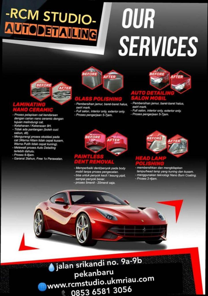Rcm Studio 27 - Salon Baret Kaca Mobil dan Salon Mobil Murah Berkualitas - Rcm Studio