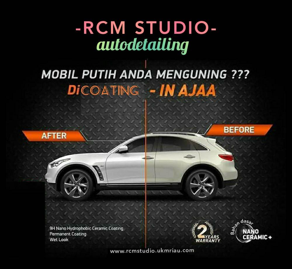 Rcm Studio 30 - Salon Baret Kaca Mobil dan Salon Mobil Murah Berkualitas - Rcm Studio