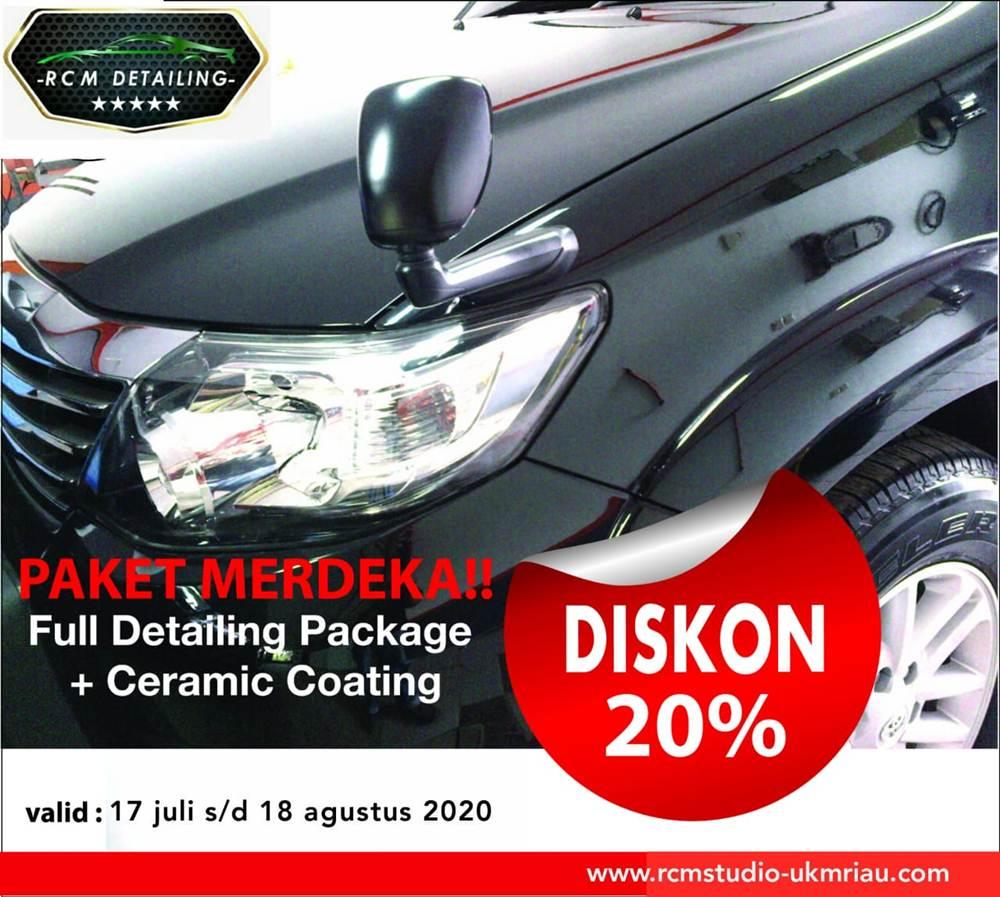 Rcm Studio 31 - Salon Baret Kaca Mobil dan Salon Mobil Murah Berkualitas - Rcm Studio