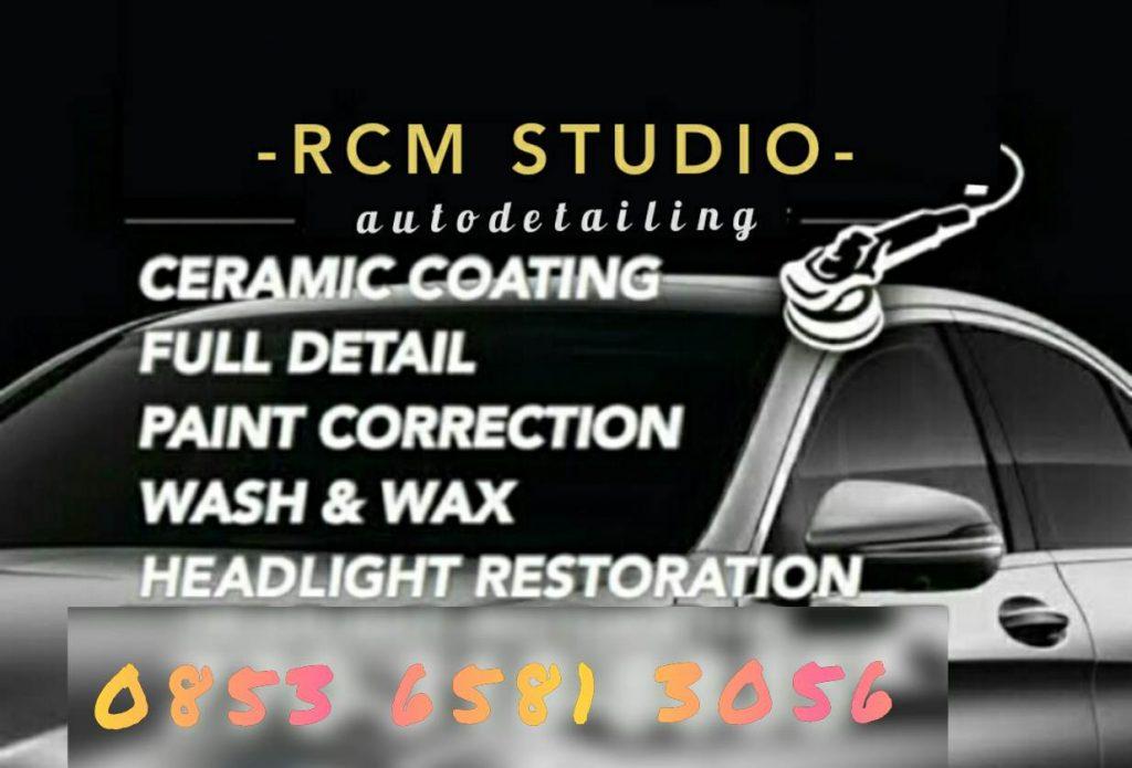 Rcm Studio 32 - Salon Baret Kaca Mobil dan Salon Mobil Murah Berkualitas - Rcm Studio