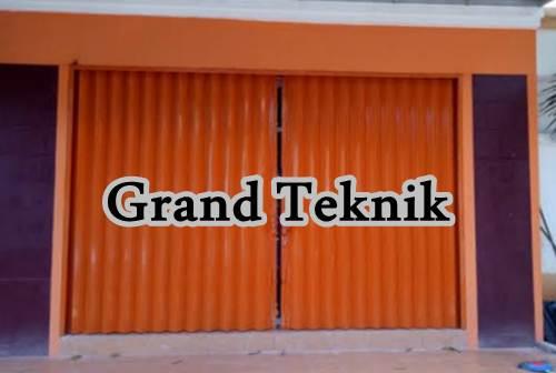 Grand Teknik 1 - Grand Teknik - Pintu Panel Press Baja dan Folding Gate Pekanbaru