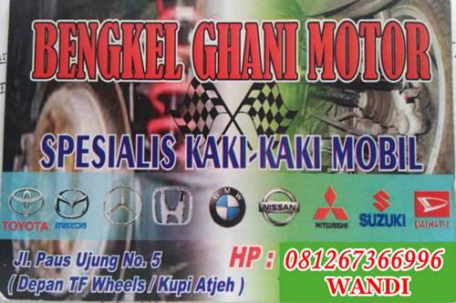 Bengkel Ghani Motor 1 - Bengkel Ghani Motor - Spesialis Kaki-kaki Mobil Pekanbaru