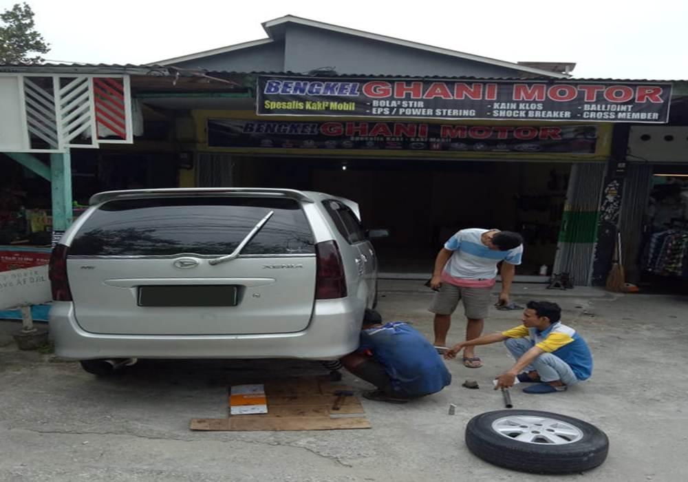 Bengkel Ghani Motor 5 - Bengkel Ghani Motor - Spesialis Kaki-kaki Mobil Pekanbaru