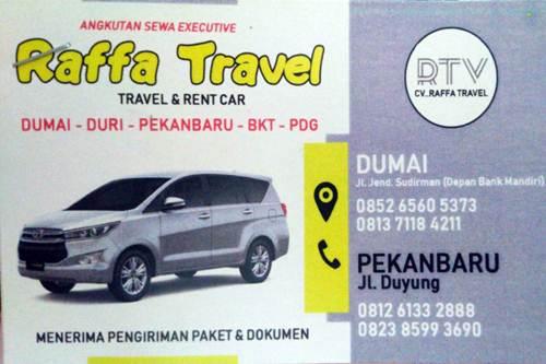 CV Raffa Travel - CVRaffa Travel - Travel Jurusan Duri dan Dumai Pekanbaru