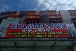 Jaya Mandiri Gypsum 1 300x200 - Pemasangan Plafon dan Baja Ringan Bergaransi Pekanbaru - Jaya Mandiri Gypsum