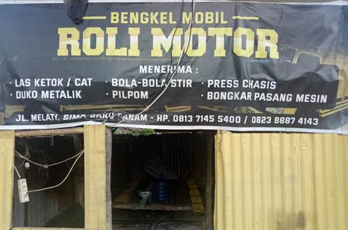 Ruli Motor 1 - Bengkel Mobil Roli Motor - Bengkel Spesialis Cat Bergaransi Pekanbaru