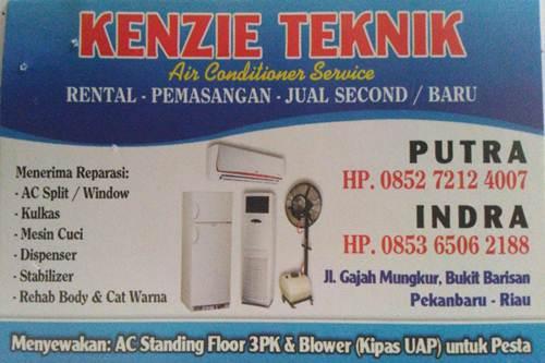 Kenzie Teknik 1 - Kenzie Teknik - Layanan Service AC Kulkas dan Mesin Cuci Bergaransi Pekanbaru