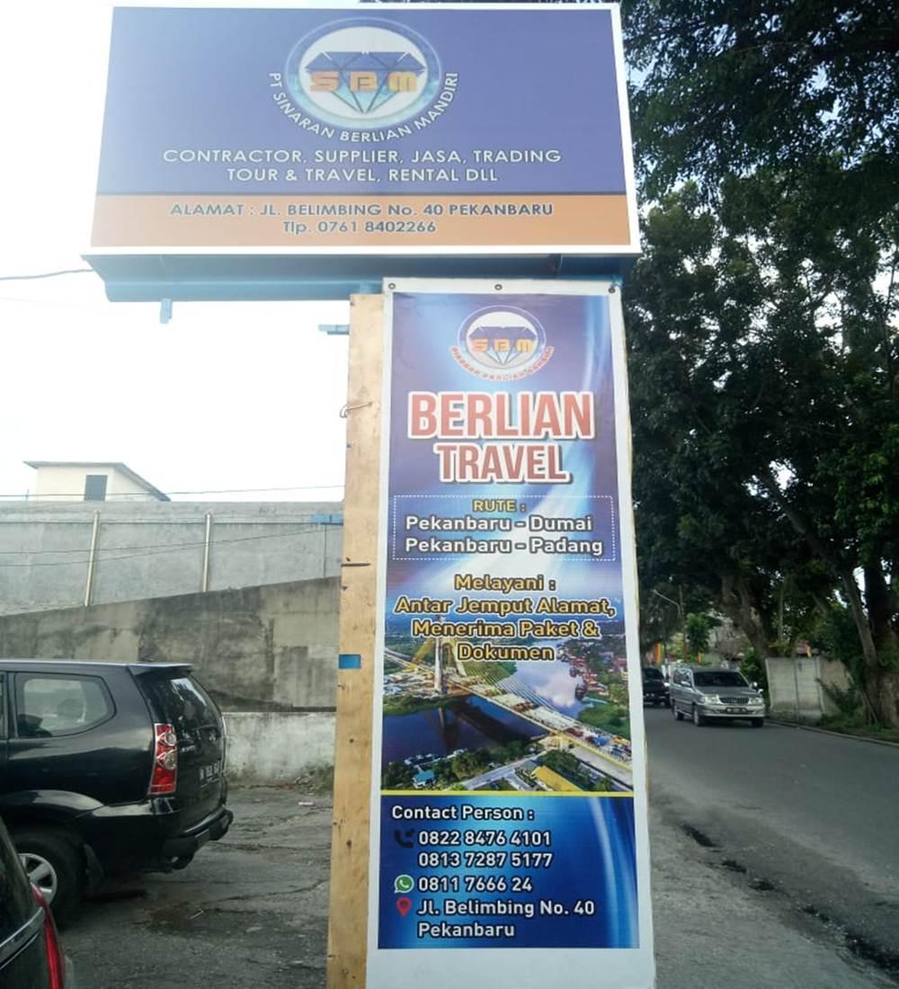 Berlian Travel 2 - Berlian Travel (PT Sinaran Berlian Mandiri) Travel Kandis Duri Dumai Pekanbaru