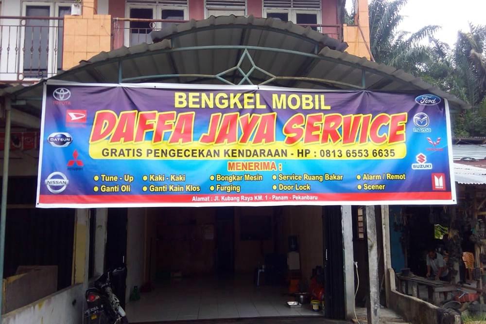 Daffa Jaya Service 01 - Daffa Jaya Service - Bengkel Mobil Umum Bergaransi Pekanbaru