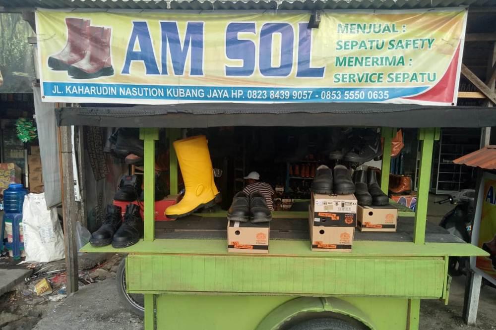 Am Sol 1 - Am Sol - Perlengkapan Sol Sepatu Pekanbaru