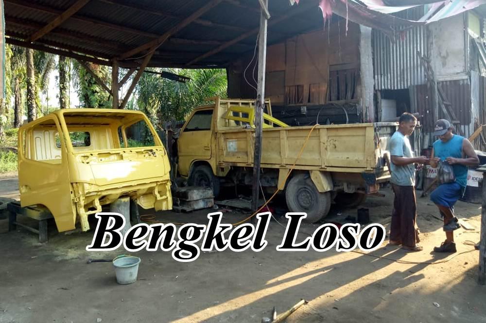 Bengkel Loso 1 - Bengkel Loso - Bengkel Mesin cat dan las Ketok Pekanbaru