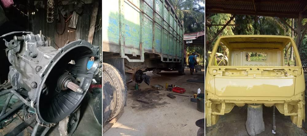 Bengkel Loso 6 - Bengkel Loso - Bengkel Mesin cat dan las Ketok Pekanbaru