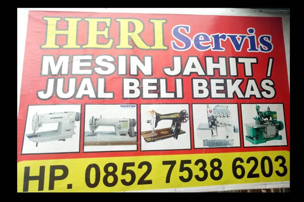 Heri Service 1 - Heri Service - Jual Beli Bekas dan Service Mesin Jahit Bergaransi Pekanbaru
