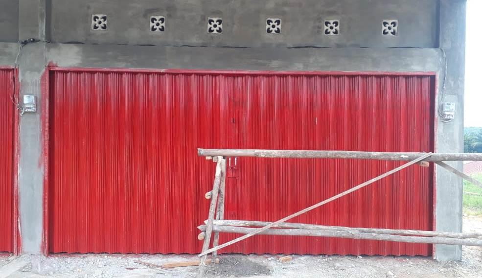 Belitang Jaya Mandiri 2 - Belitang Jaya Mandiri - Pintu Besi Folding Gate Plat Press Pekanbaru